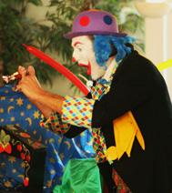 Spectacle sur Paris et l'ile de france : Barbiche le clown magicien