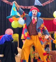 Pour un arbre de Noel ou une fête de fin d'année : Barbiche le clown