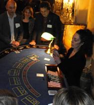 Animation casino : Croupier en fonction (sur Paris ou région parisienne)