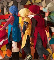 spectacle jeune public pour l'arbre de noël d'un comité d'entreprise de Paris