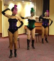 Animation Danseuse Cabaret Région parisienne comité d'entreprise