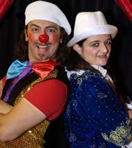 dolly et le magicien, à la fin du spectacle