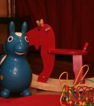 espace petite enfance, animation pour les tous-petits lors d'un arbre de Noël sur l'ile de france
