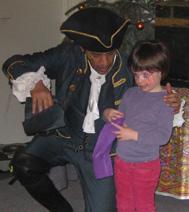 spectacle de pirate avec de la magie, sur paris et en région parisienne