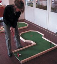 Parcours de mini-golf, sur Paris et la région parisienne