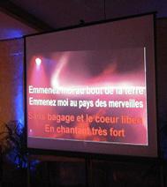 Animation Karaoke (chanson française ou étrangère) pour soirée d'entreprise