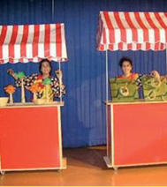 Exemple de Stand de Kermesse, animation post-spectacle de Noël