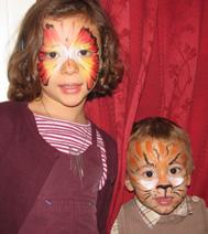Face painting pour les enfants
