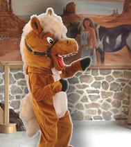 Peluche géante / Mascotte Cheval, idéal en animation d'accueil