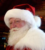 Animation Père Noël avec les enfants, après un spectacle acheté par un comité d'entreprise