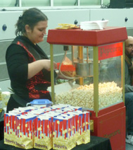 Stand de Pop Corn sucré