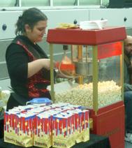 Animation de Kermesse : le stand de popcorn (sucré ou salé)