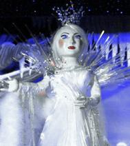 La Reine, personnage du spectacle : La lettre au Père Noël
