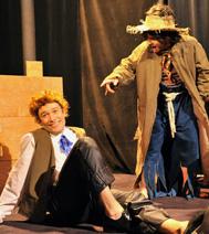 Photo du spectacle pour enfants : Tom Sawyer. Disponible pour les comités d'entreprise