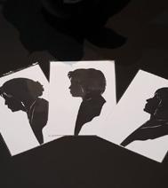 Animations pour une soirée d'entreprise : Silhouettiste