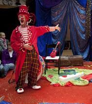 Spectacles pour un arbre de Noël : Le Clown Wolfgang